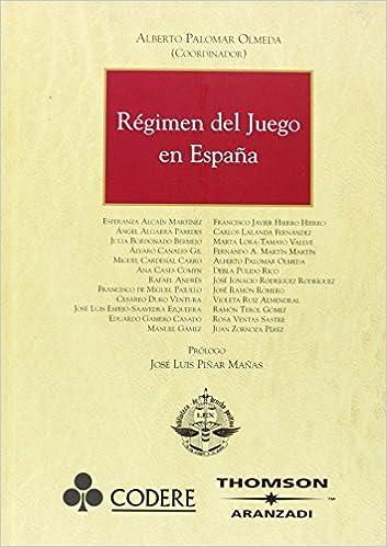 Régimen del Juego en España (Gran Tratado): Amazon.es: Cardenal Carro, Miguel, Duro Ventura , Cesareo, Palomar Olmeda, Alberto: Libros