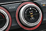 iJDMTOY 3pc Red Anodized Aluminum AC Climate