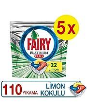 Fairy Platinum Plus 110 Yıkama Bulaşık Makinesi Deterjanı Kapsülü (22*5)