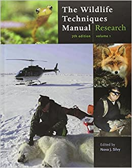 The Wildlife Techniques Manual: Volume 1: Research. Volume 2: Management: 2-vol. set