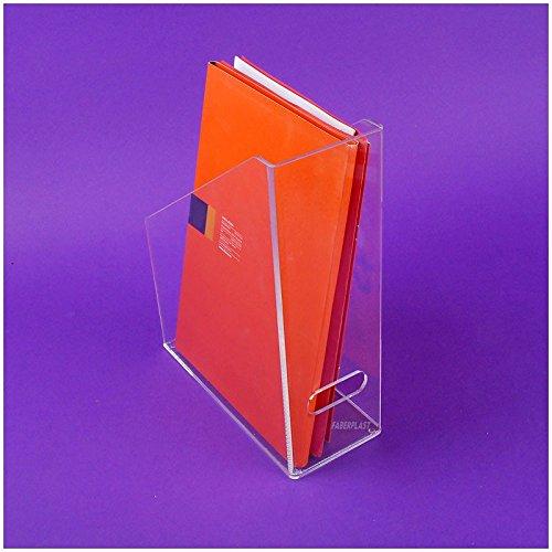 Faberplast FB1092 - - - Caja Archivos Carpetas, color transparente 2cb51a