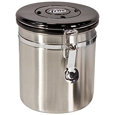 Friis 12-Ounce Coffee Vault, Stainless Steel
