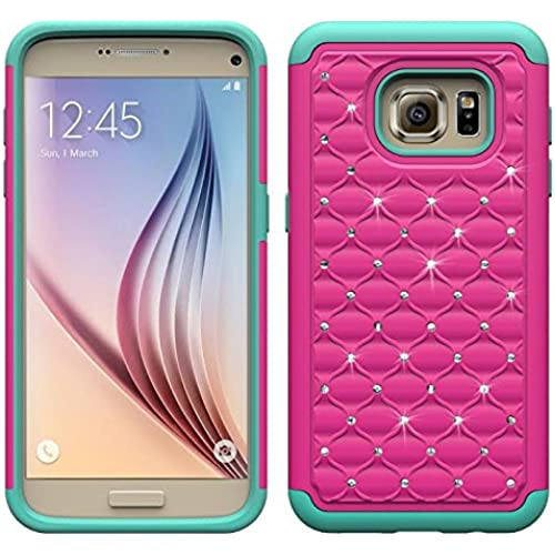 Samsung Galaxy S7 Case, Galaxy S7 Case, Hybrid Gel Protector Cover - Bling Bumper Hard Gel Case Combo For Samsung Sales