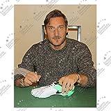 Francesco Totti Signed Tiempo Soccer Shoe