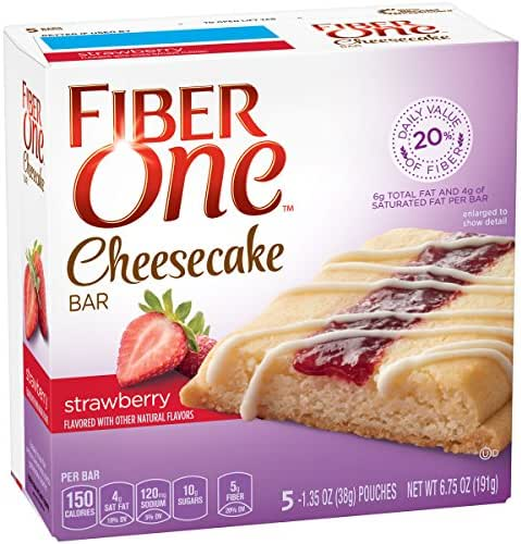 Granola & Protein Bars: Fiber One Cheesecake