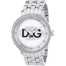 D&G Dolce and Gabbana Men's DW0131 Prime Time Silver Dial Watch