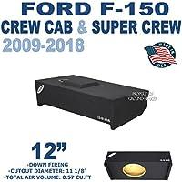 Ford F150 Super Cab & Crew Cab 12 Sub Box / Subwoofer box