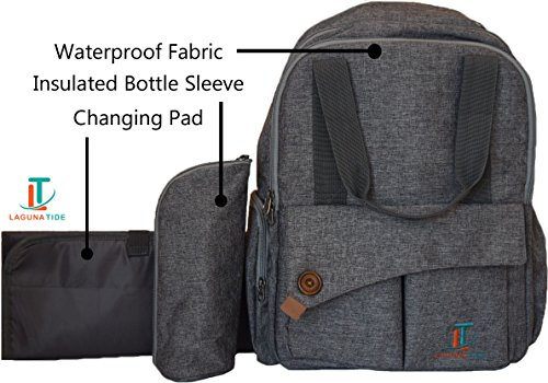 top 10 best diaper bags backpack best of 2018 reviews no place called home. Black Bedroom Furniture Sets. Home Design Ideas