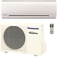 Panasonic 9,000 BTU Ductless Mini Split Air Conditioning and Heating System, Indoor and Outdoor Set with Wireless Remote (208/230V)