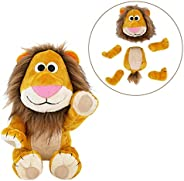 Animoodles Magnetic Brady Lion Stuffed Animal Plush, 7.5&