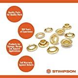Stimpson Self-Piercing Grommet and Washer Stainless