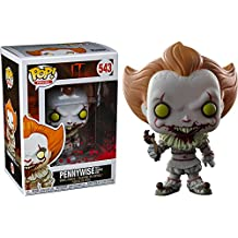 Funko Pop Movies: IT Pennywise with Severed Arm Collectible Figure, Multicolor