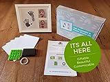 Ultimate Baby Ink Handprint Footprint Kit & Frame
