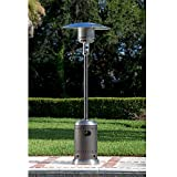 Modern Durable Stainless Steel Patio Heater | Contemporary Home Outdoor Space Heater by the Porch, Pool, Garden or Gazebo