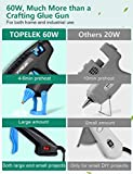 Hot Glue Gun, TOPELEK 60W Full-Size Glue Gun with