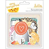 American Crafts Amy Tangerine Rise and Shine Die-Cut Shapes