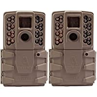 Moultrie A-30 12MP 60 HD Video Low Glow Infrared Game Trail Camera (2 Pack)