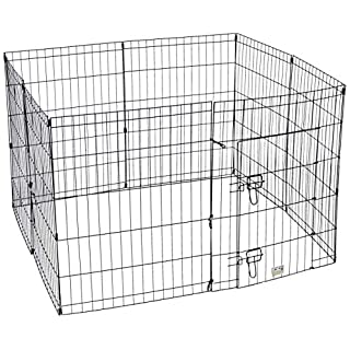 "Pet Trex 30"" Playpen for Dogs Eight 24"" Wide x 30"" High Panels"
