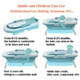 55inch Portable Bathtub for Adults Children and
