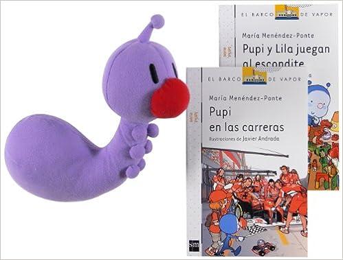 Pupi Y Lila Juengan Al Escondite + Pupi En Las Carreras +Lila Barco de Vapor Blanca: Amazon.es: Menéndez-Ponte, María, Andrada Guerrero, Javier: Libros