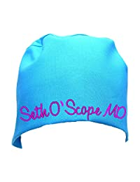 S1FM! Personalized Scrub Cap, Blue, Handmade, Dbl Cotton