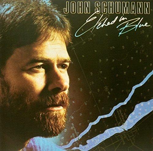 Vinilo : John Schumann - Etched In Blue (Blue Vinyl) (Colored Vinyl, Blue, Limited Edition, Reissue, Australia - Import)