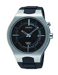 Seiko SKA651 Kinetic Stainless Steel Rubber Strap 100M Men's Watch