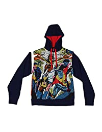Mad Engine X-Men - Blasted Sublimated Zip Hoodie With Removable Sleeves