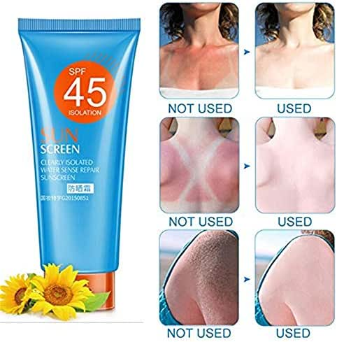 Light and Breathable Cover Blemishes Sunscreen Facial Moisturizing Cream Skin Protective Cream Anti-Aging Oil-control 30g