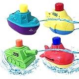 energetic life Bath Toys ,Pool Toy,Boat, Speed Boat, Bathtub Toy Toddlers Boys Girls