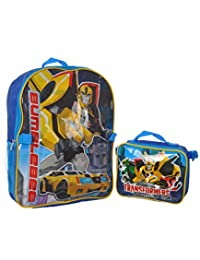 """Transformers """"Robots in Disguise"""" Backpack with Lunchbox"""