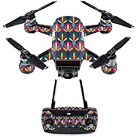 Skin for DJI Spark Mini Drone Combo - Bold Tile| MightySkins Protective, Durable, and Unique Vinyl Decal wrap cover | Easy To Apply, Remove, and Change Styles | Made in the USA