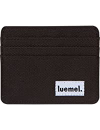 Wallet Card Holder Slim Minimal Canvas Front Pocket for Men & Women Animal Friendly Durable Stylish Small Size