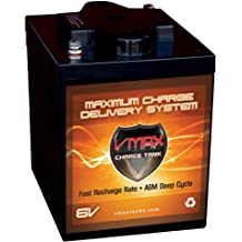 VMAX6-225 GC2 AGM Deep Cycle Battery Replacement for Western Golf Car Model 400 6V Golf Cart Battery