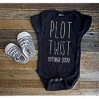 Plot Twist Funny Pregnancy Announcement, Baby Reveal Onesie