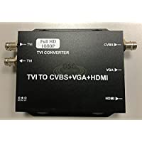 CCTV HD TVI Video Converter Converters HDMI, BNC, VGA Output, and HDTVI Video Loop Ouput