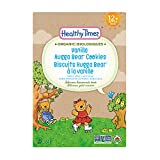Healthy Times Organic Hugga Bear Cookies for Kids, Vanilla | For Toddlers, 12 Months and Older | 184 g Box, 1 Count