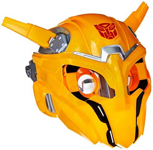 Máscara Filme 6 Bee Vision, Transformers, E0707 Hasbro, Amarelo/Preto