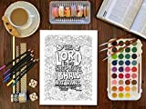 Color The Psalms: Inspired To Grace: Christian