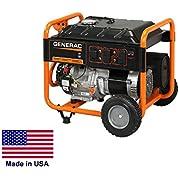 Portable Generator - Residential/Commercial - 8,125 Watt - 120/240V - Csa Cert