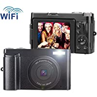 Digital Camera Vlogging Camera 24MP Ultra HD WiFi Youtube...