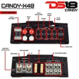 DS18 CANDY-X4B Amplifier in Black - Class D, 4