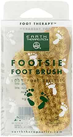 EARTH THERAPEUTICS Footsie Foot Brush, 0.51 Pounds