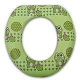 Petite Creations PSG291 Soft Child Potty Training Seat - Frogs
