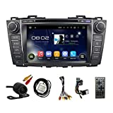 TLTek 8 inch HD 1024*600 Muti-touch Screen Car GPS Navigation System For Mazda 5 2012-2015 Android DVD Player+Backup Camera+North America Map