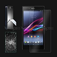 Premium Tempered Glass Screen Protector Film for Sony Xperia Z Ultra, C6802, C6803, C6806, C6833, C6843, SOL24