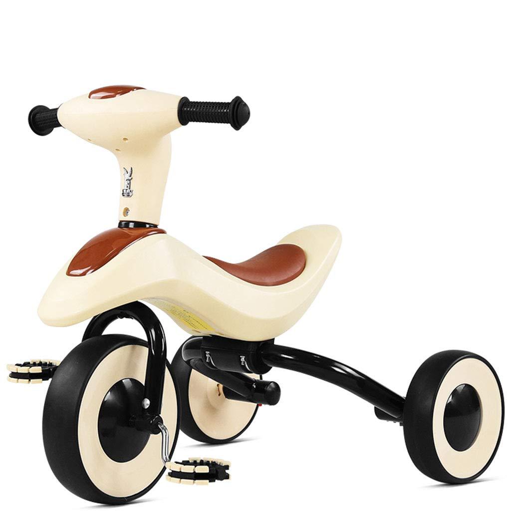 precios bajos todos los dias Bicicleta De Tres Ruedas, Ruedas, Ruedas, Triciclo para NiñOs, Plegable, Adecuado para NiñOs De 3 A 6 AñOs.  precios razonables