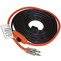Frost King HC18A 18 Feet Automatic Electric Heat Cable Kits, Black by Frost King