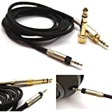 1.2m 3.9ft NEW OFC Replacement Audio upgrade Cable For Audio Technica ATH-M50x ATH-M40x Headphones