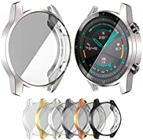 Screen Protector Case for Huawei Watch GT 2 46mm Case GT2 Soft Tpu Cover Scratch-resistant Shell Accessories